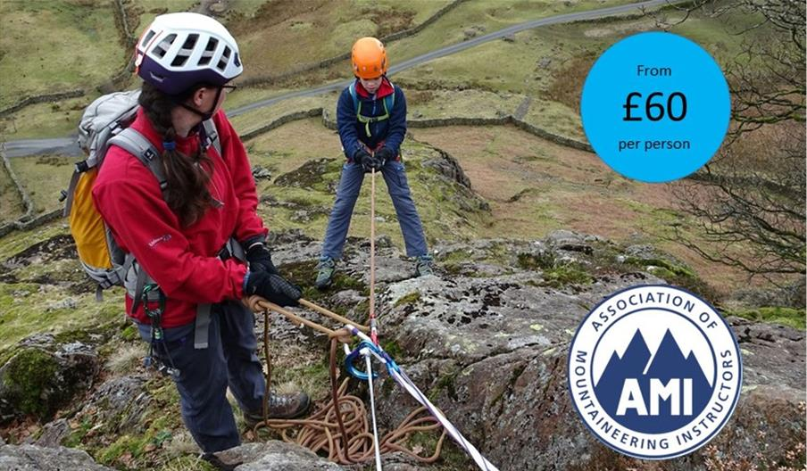Learn Scrambling Skills with The Lakes Mountaineer