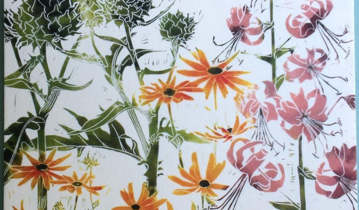 Lino Cut Printing-  Botanic and Natural Forms with Laura Sowerby