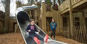 'The Lost Castle' Adventure Playground - Lowther Castle