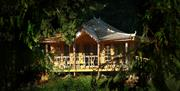 Lowther_Castle_rose_garden_summerhouse