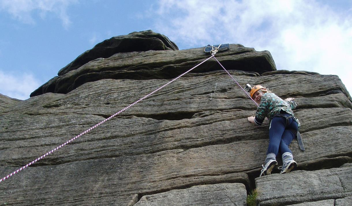 Climbing with Adventure Vertical