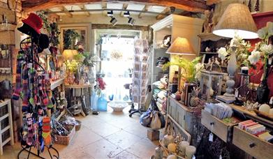 Lower Red Barn Gallery at Larch Cottage Nursery
