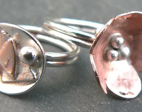 Silver Jewellery 2 day course Quirky Workshops @ Greystoke near Penrith