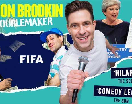 Simon Brodkin – Troublemaker