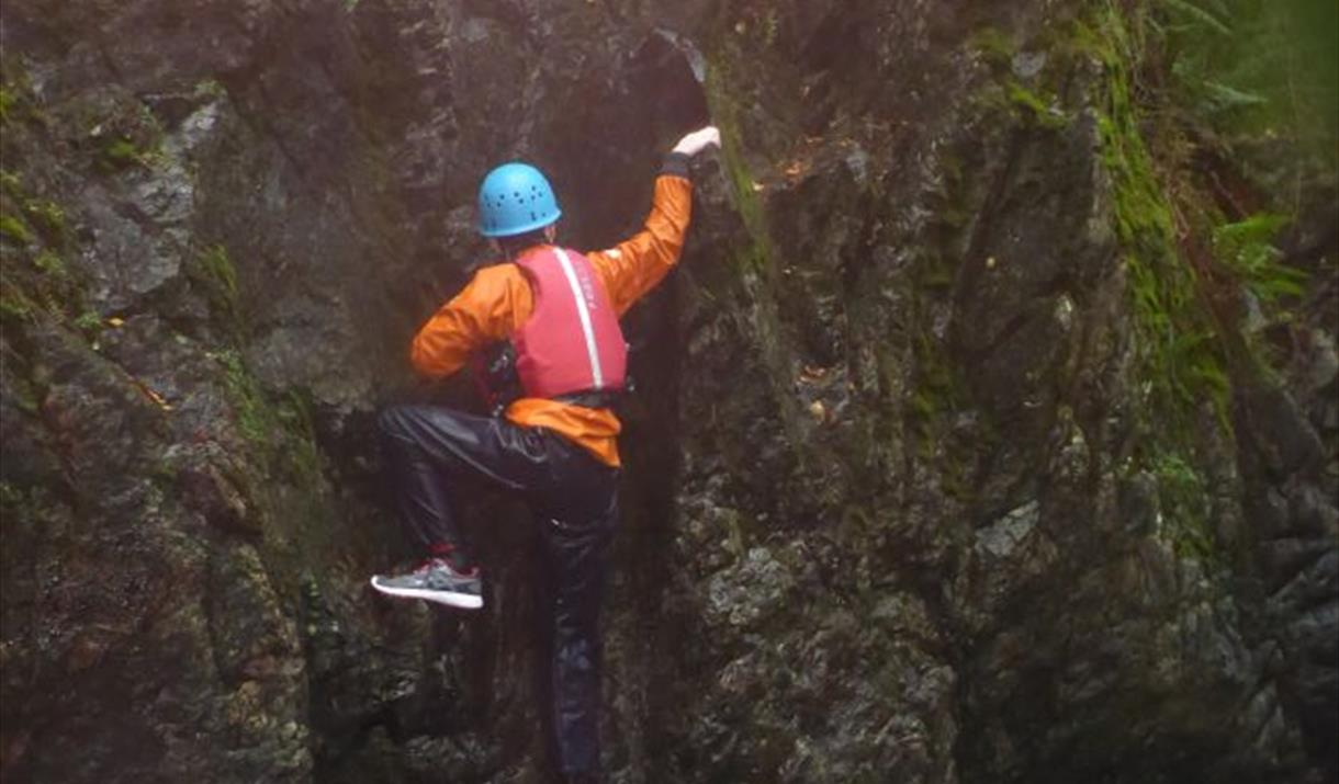 Joint Adventures - Gorge scrambling and Canyoning
