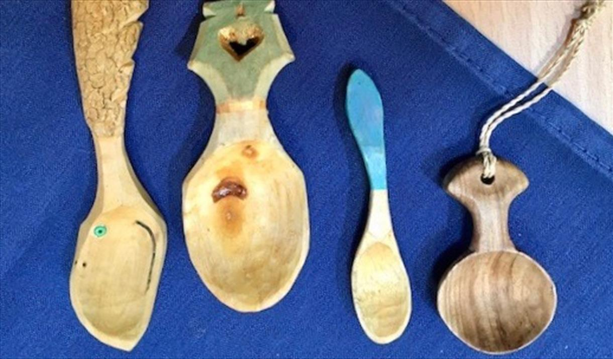 Swedish Wood Carving: Spoons & Utensils at Cowshed Creative