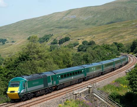 The Staycation Express on the Settle to Carlisle Railway