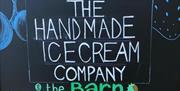 Handmade Ice Cream Co at The Barn