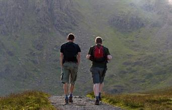 Walking in the Lake District, Cumbria