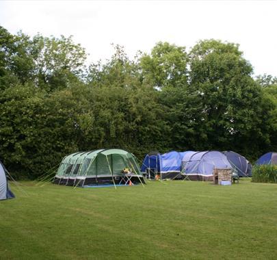 Camping at Water's Edge