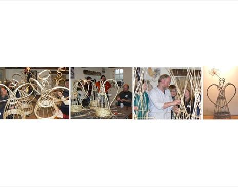 Willow Weaving - Angels for Christmas & Beyond