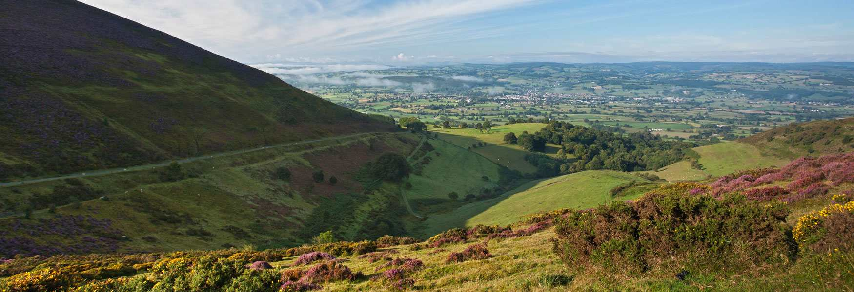The Clwydian Range and Dee Valley