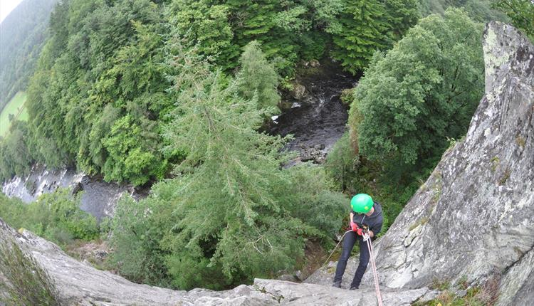 Half Day Guided Rock Climbing/Abseiling