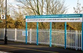 Llanfairpwll Train Station