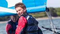 Sailing at Plas Menai