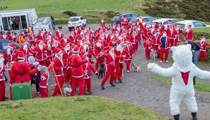 Clwydian Santa Dash