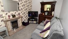 Lounge at Llwyn Beuno for 5 with Smart TV