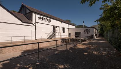 Aber Falls Distillery Exterior