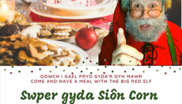 Swper gyda Siôn Corn - Supper with Father Christmas
