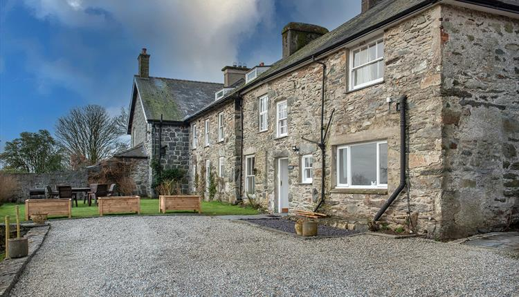 photo of Eisteddfa country house large group self catering accommodation