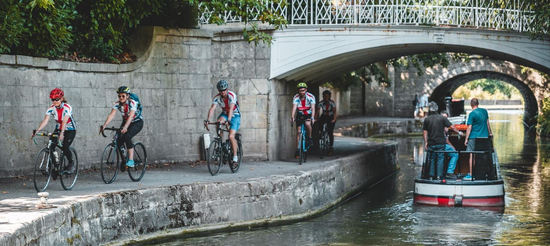 Activities with Active England, including cycling