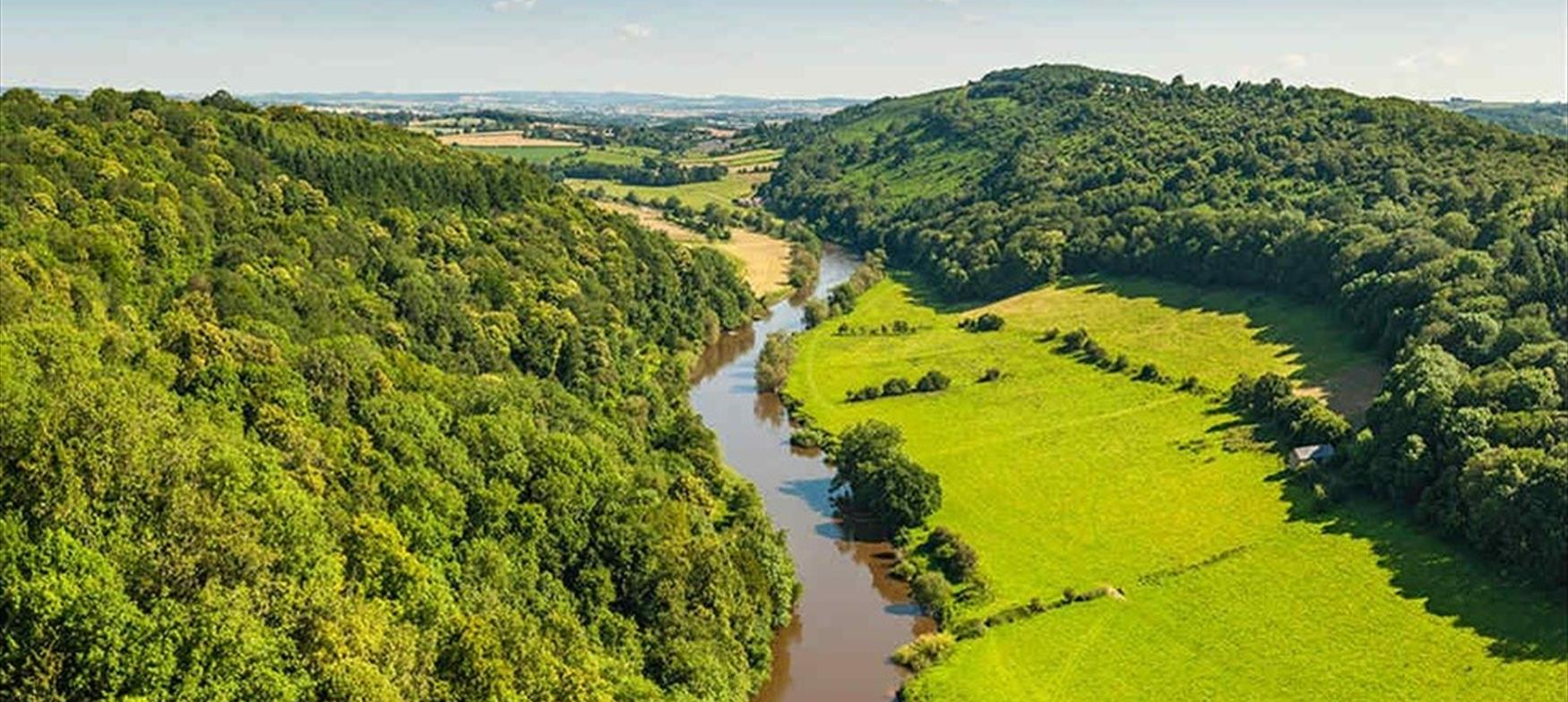 The Forest of Dean from above