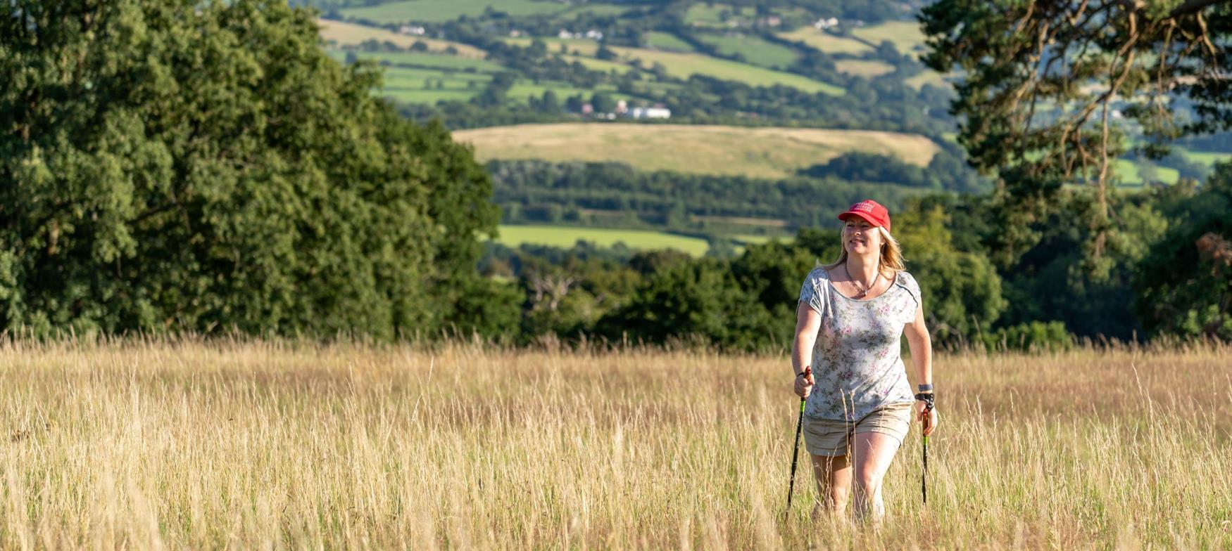 Nordic Walking on England's Great West Way