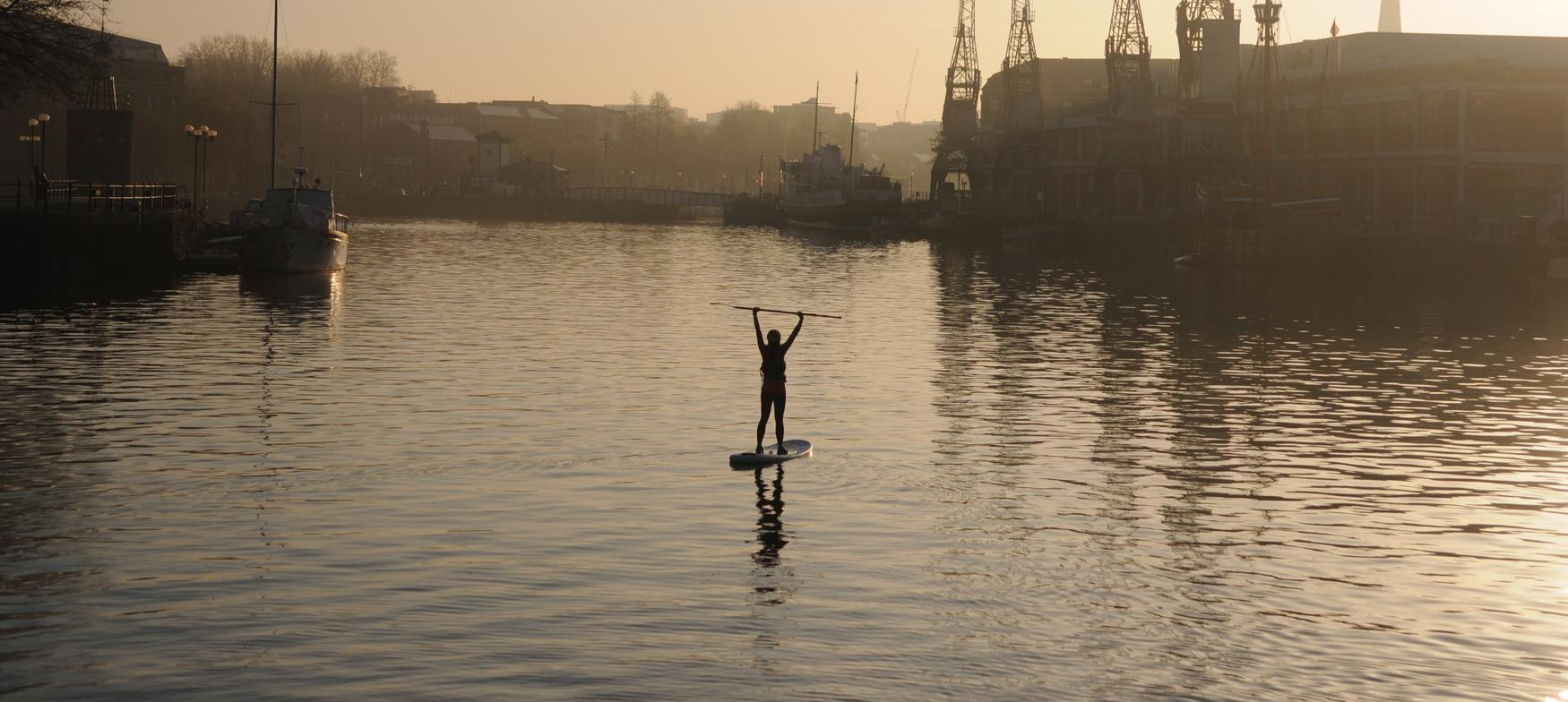 Try Paddle Boarding along the way