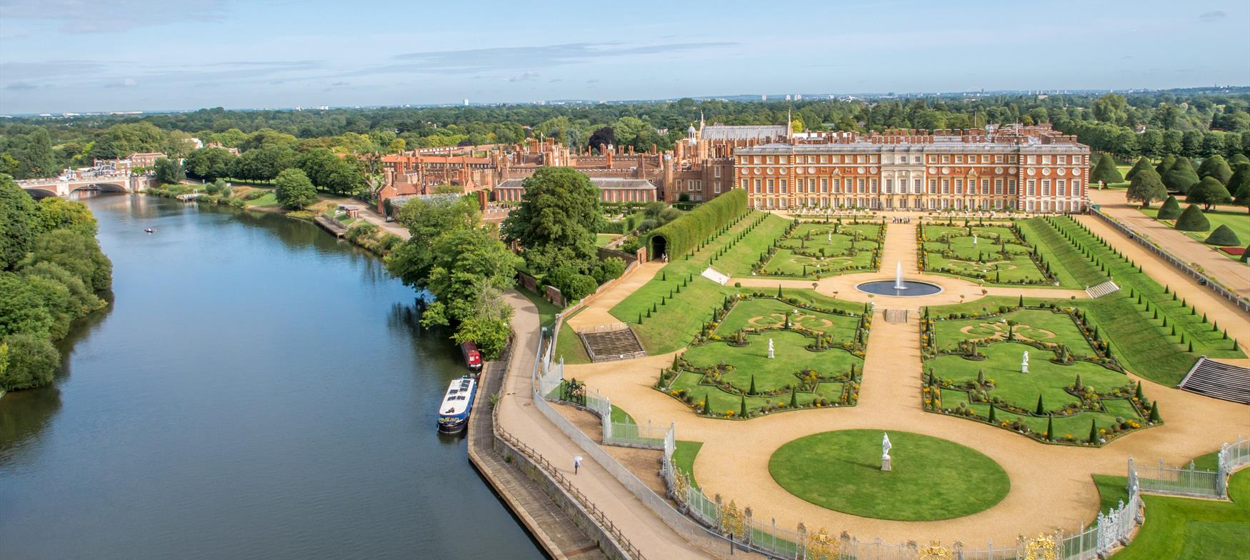 Hampton Court Palace - one of many things to see and do