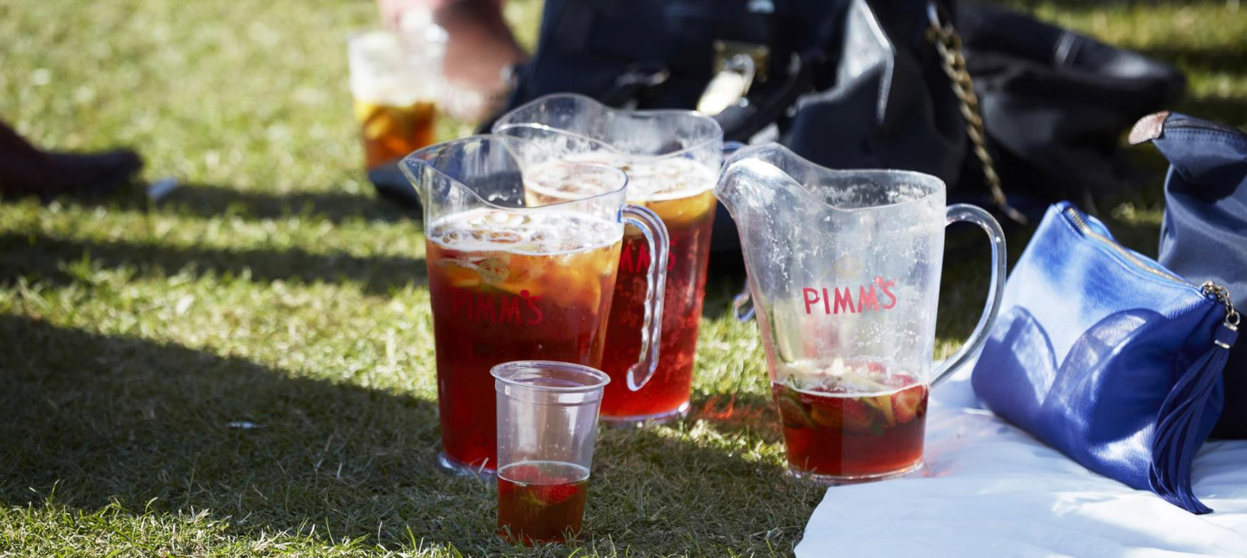 A pitcher of Pimms