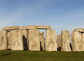 Stonehenge on a sunny day