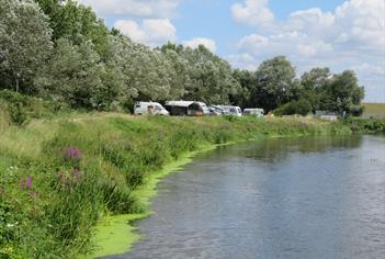 Walton on Thames Camping and Caravanning Club Site
