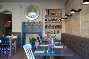 Clayton's Kitchen restaurant in Bath