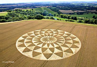 Crop Circle (C) Lucy Pringle