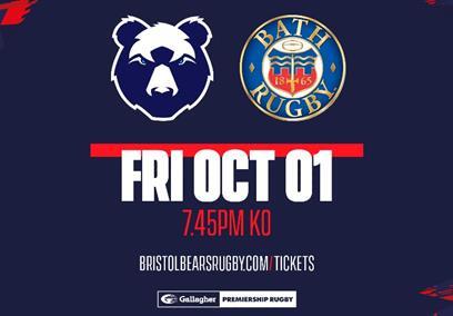 Bristol Bears v Bath Rugby at Ashton Gate Stadium