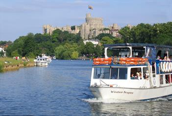 The River Thames and Windsor Castle
