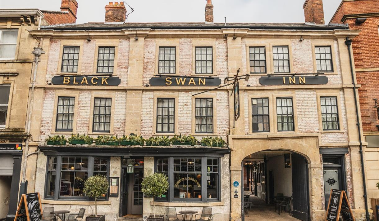 The Black Swan Inn in Devizes