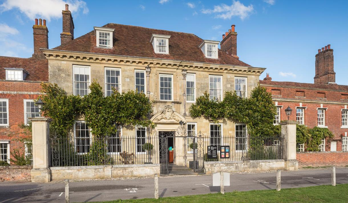 Mompesson House in Salisbury