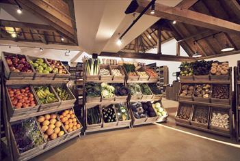 Cobbs Farm Shop in Englefield,Berkshire