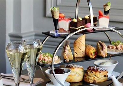 Afternoon Tea at the Castle Hotel in Windsor