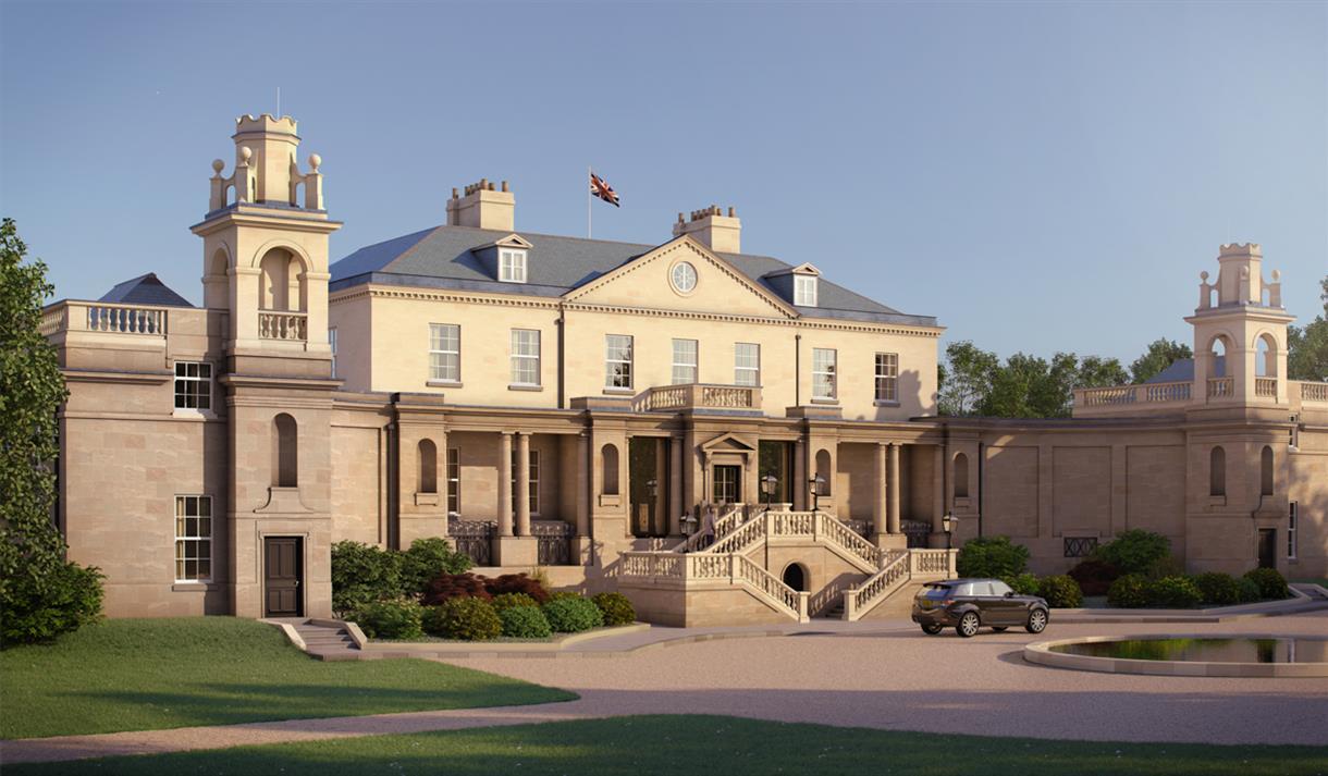 The Langley Hotel Facade