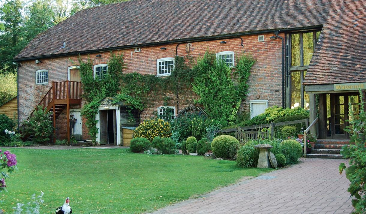 Exterior of the Watermill Theatre