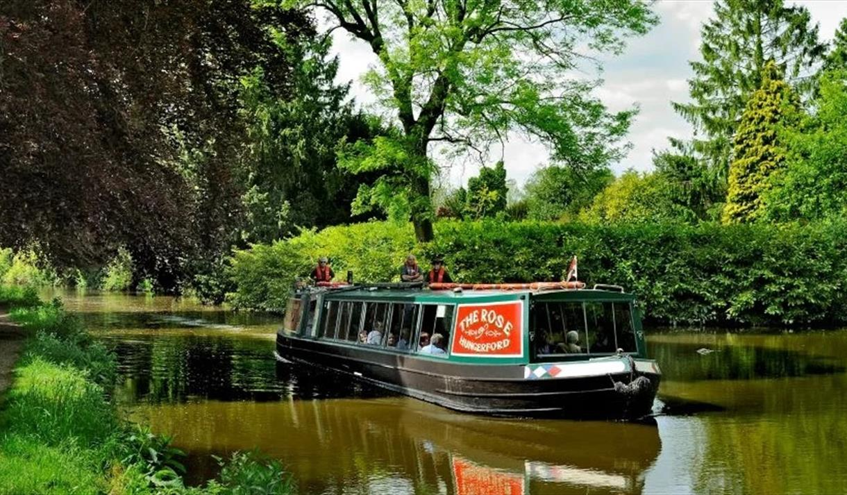 The Rose of Hungerford Canal Boat