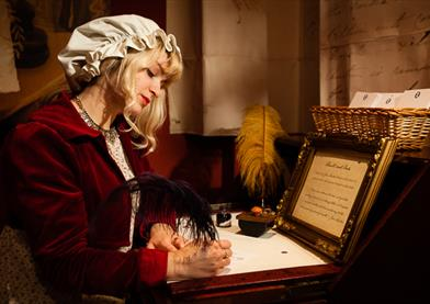 The Jane Austen Centre tea room