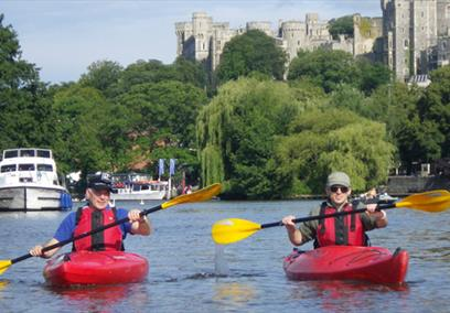 Windsor Kayak Tour With Tuition