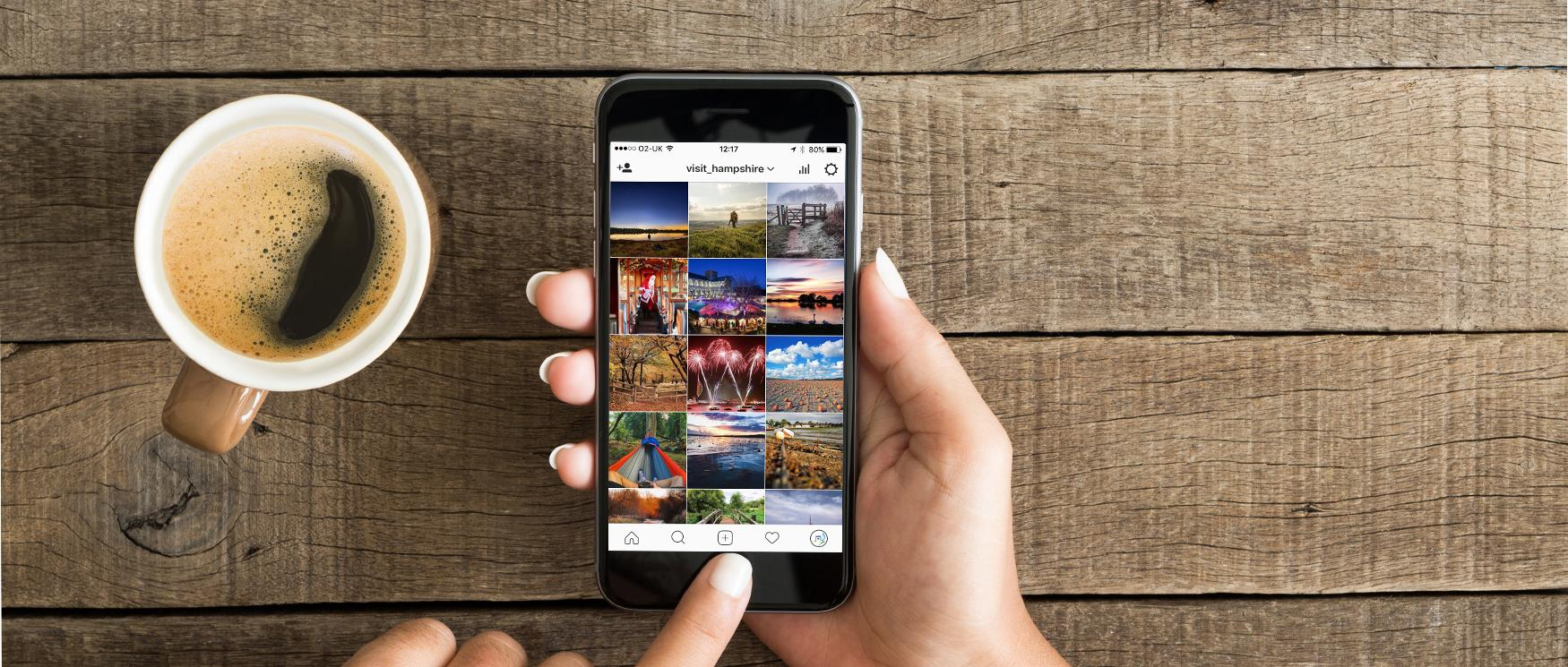 Visit Hampshire's Social Media Channels