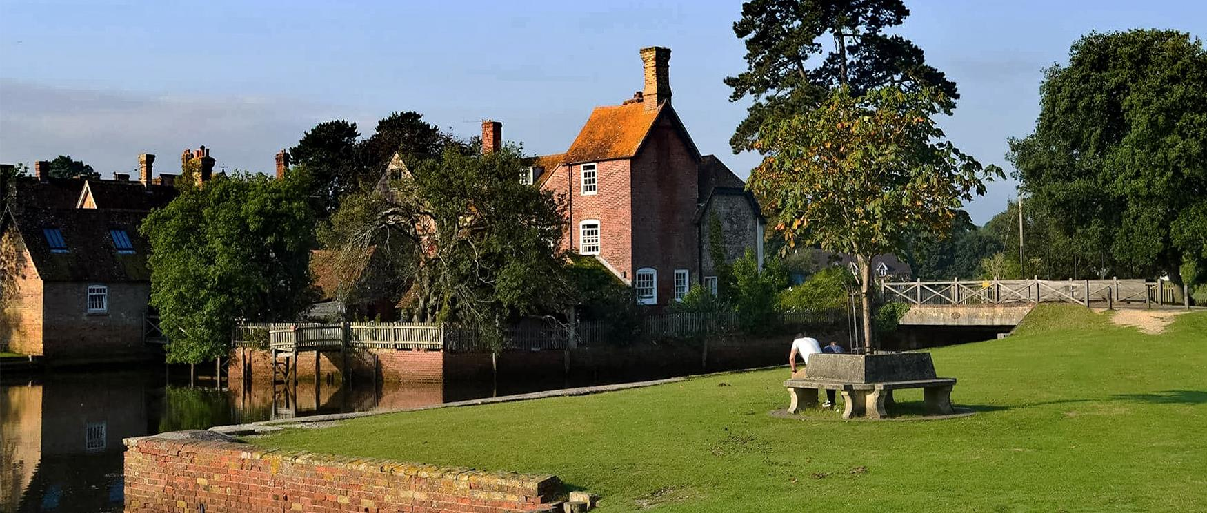 The Village of Beaulieu in the New Forest National Park