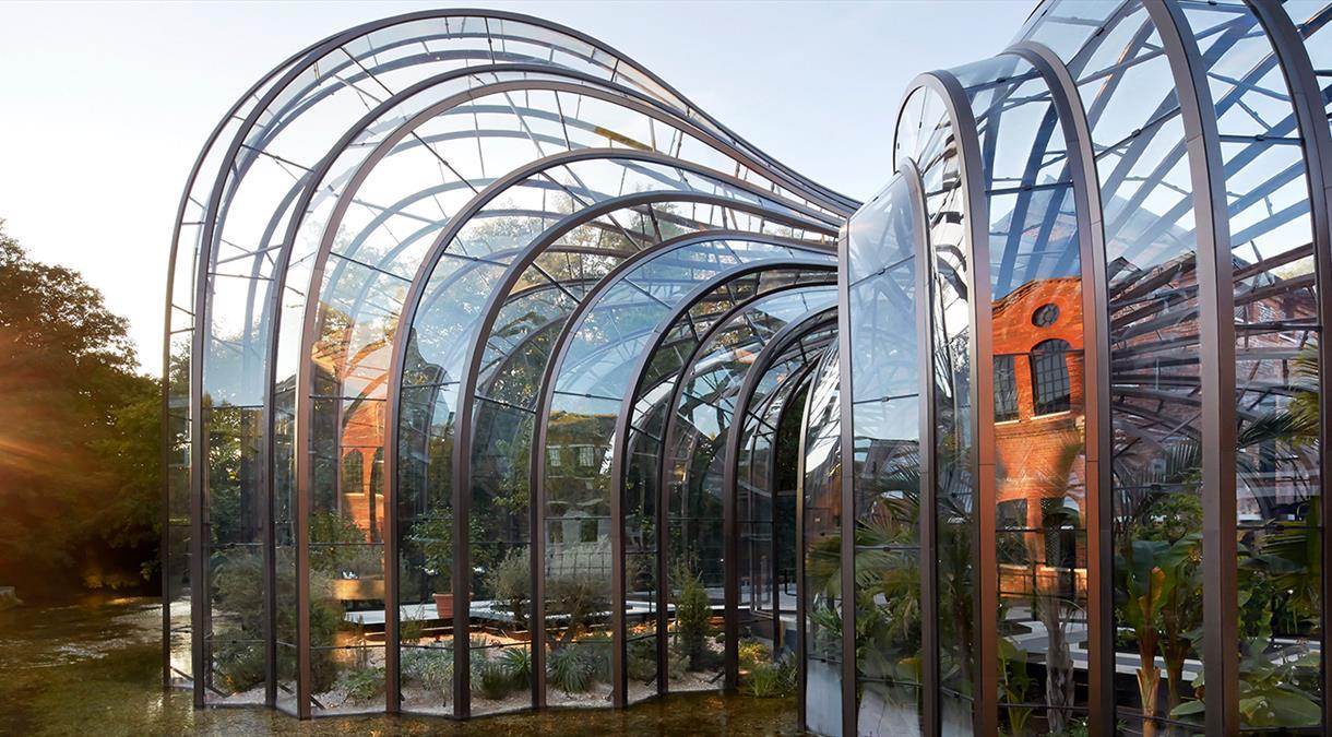 Bombay Sapphire Distillery's Glass Houses