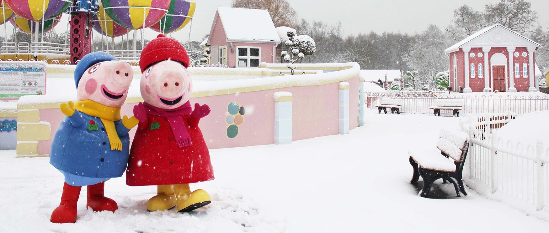 Christmas at Peppa Pig World in Paultons Park