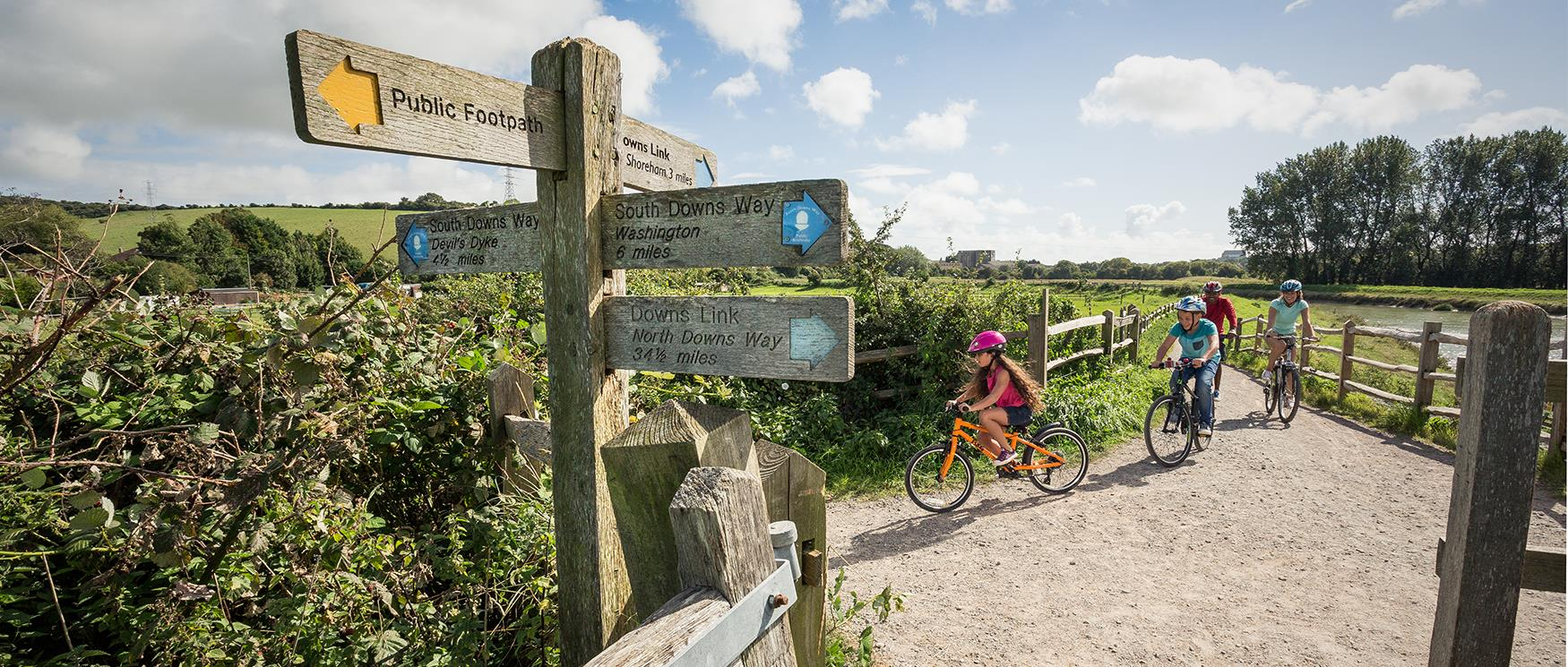 Family Friendly Cycle Routes in Hampshire